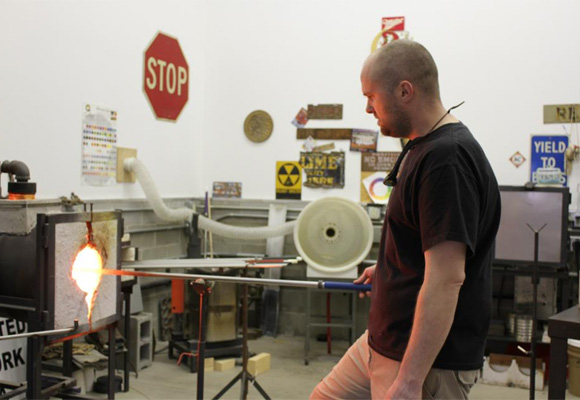 Brian L Graham: Glass Blower  – Visual Art Teacher